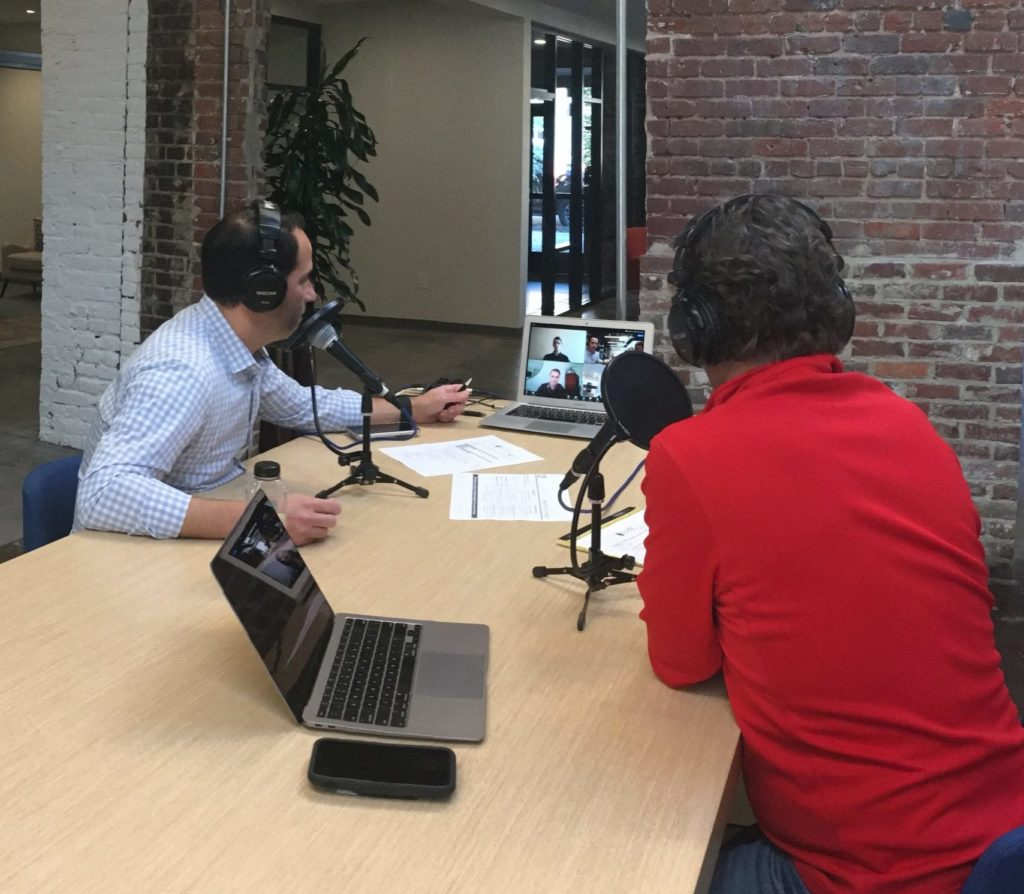 """John Clair and Dave O'Brien on their episode 28 EvoFi podcast, """"The Future of ESG Investing"""""""