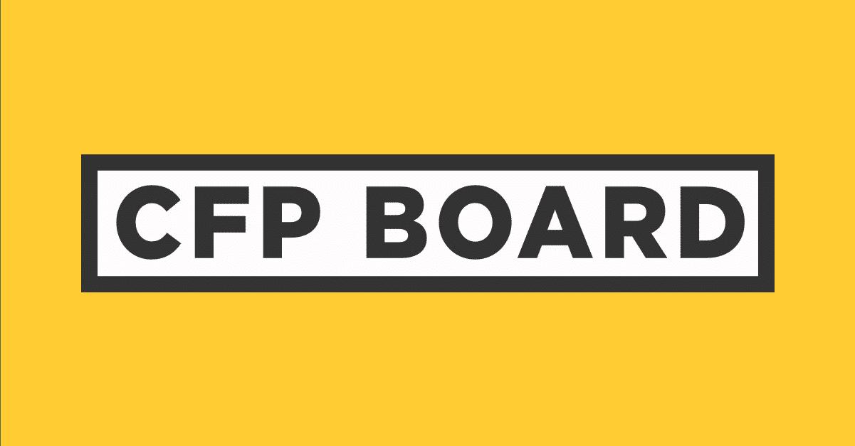 Logo for CFP (Certified Financial Planner) Board of Standards